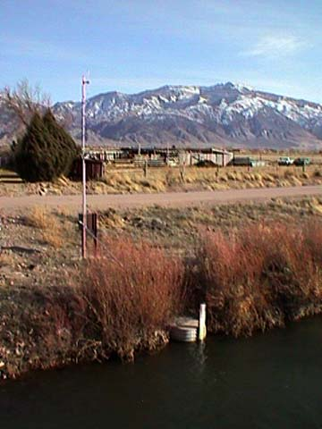 Real-time Monitoring Station on Sevier River near Elsinore