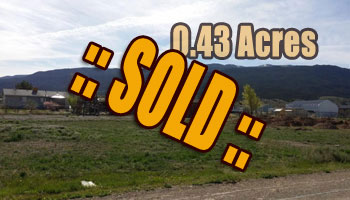 SOLD: Priced 2 Sell  West-Facing Lot