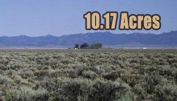 SOLD: 10.17 ACRES Beryl, UT