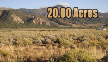 20 ACRES  South of Cedar City, Utah
