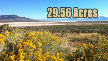 SOLD: 29.56 Acres Parowan, UT
