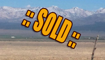 SOLD: 78.4 ACRES  Milford, UT Beaver Cty