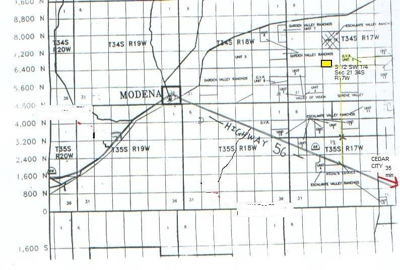 80 Acres 4400 W 6400 N BERYL, Utah 84714