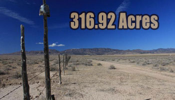 316.92 Acres – Half Section