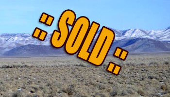 SOLD: 100 Acres 6 mi W of Minersville, UT