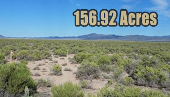 SOLD: 156.92 Acres Iron County